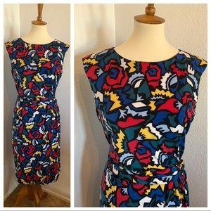 Anne Klein Multicolor Sheath Dress Size 0X NWT